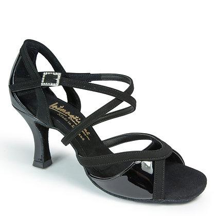 IDS Bianca-Black Nubuck / Black Patent