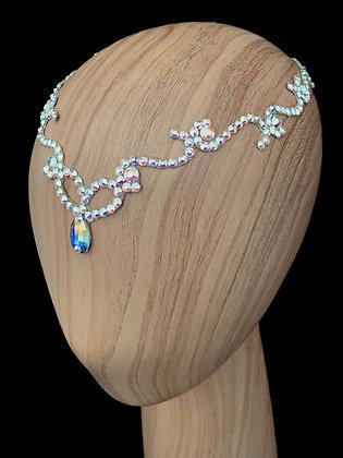 JLH512 Crystal AB Head Pieces