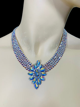 JLN30 - Crystal AB Necklace