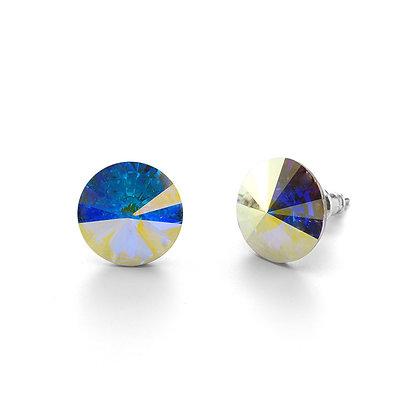 Elite Crystal AB - Stud Earrings