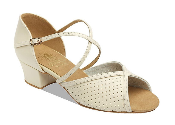 Style 1226 - Beige Leather / Perforated
