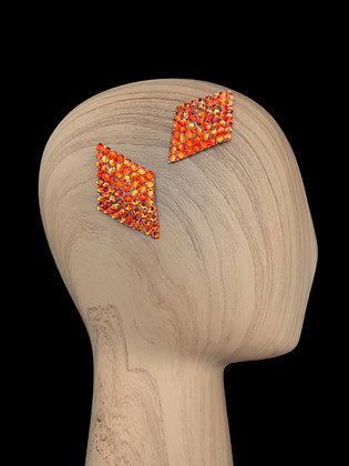 JHC - Fireopal Hair Clips