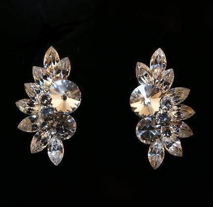 FC159 Swarovski Crystal Earrings