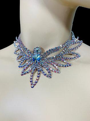 JLN06 - Crystal AB Necklace