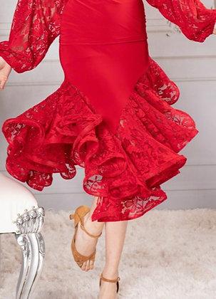Dance America S910 Latin Skirt