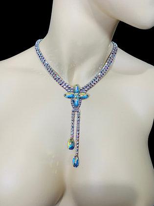 JLN21 - Crystal AB Necklace