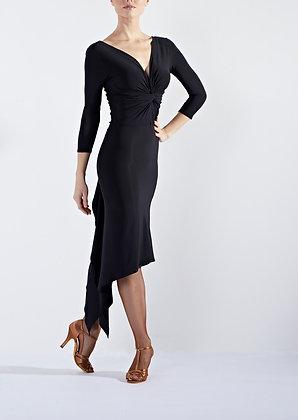 Ecstasy Black Latin Dress