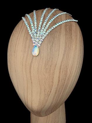 JLH511 Crystal AB Head Pieces