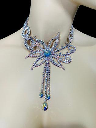 JLN31 - Crystal AB Necklace