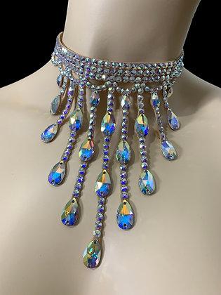 JLN16- Crystal AB Necklace