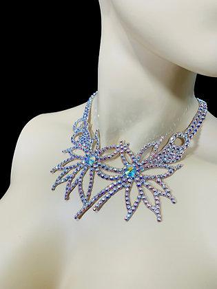 JLN23 - Crystal AB Necklace