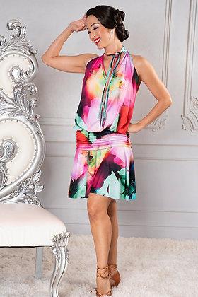 Dance America D904 Latin Dress