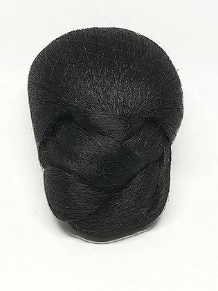 Braided Bun - Black