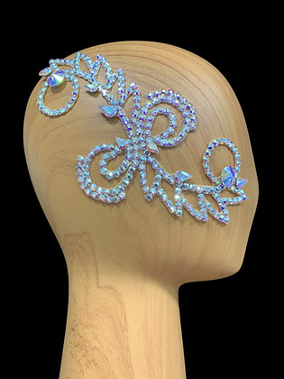 JLH159 Crystal AB Hair Piece