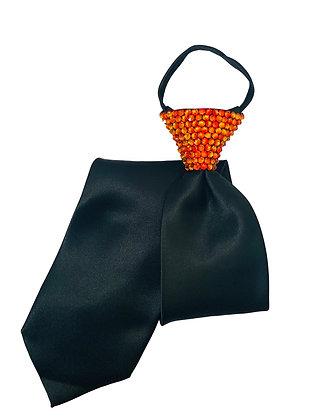 NF - Fireopal Black Zip Tie