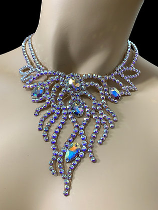 JLN12 - Crystal AB Necklace