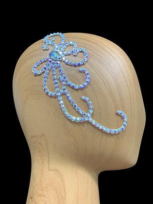 JLH153 Crystal AB Hair Piece