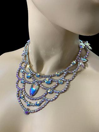 JLN14 - Crystal AB Necklace