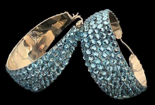 LUX - Light Sapphire Earrings