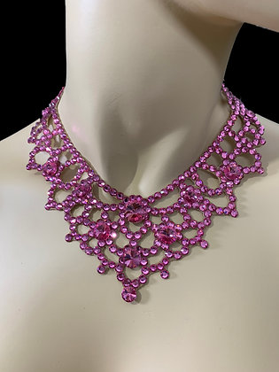 JLN08 - Rose Necklace