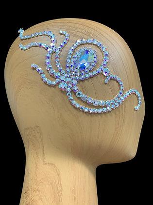 JLH155 Crystal AB Hair Piece