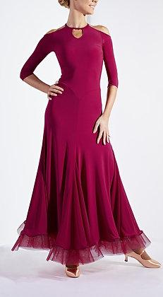Revolution Wine Ballroom Dress