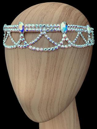 JLH515 Crystal AB Head Pieces