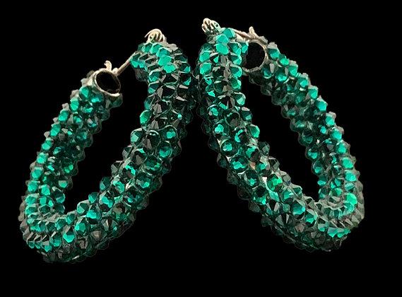 DSC - Emerald Earrings