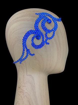 JLH135 Sapphire Hair Piece