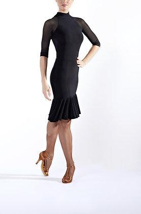 Rapture Black Latin Dress
