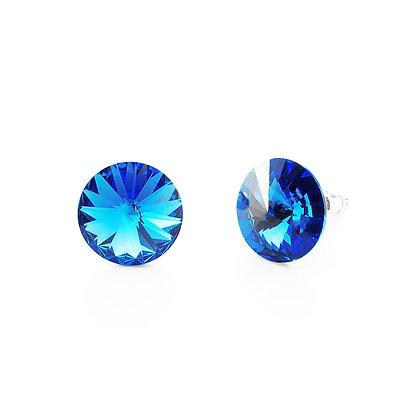 Elite Sapphire - Stud Earrings