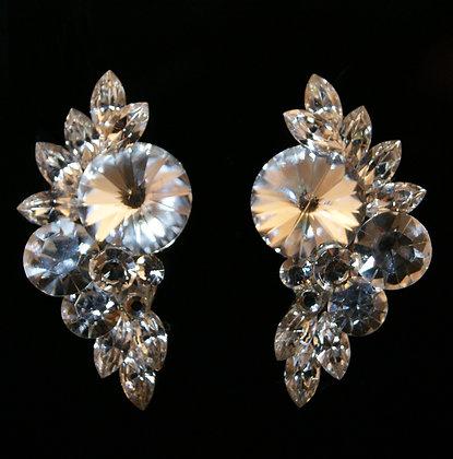 FC169 Swarovski Crystal Earrings