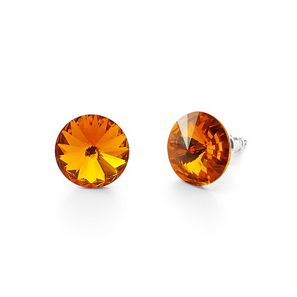 Elite Tangerine - Stud Earrings
