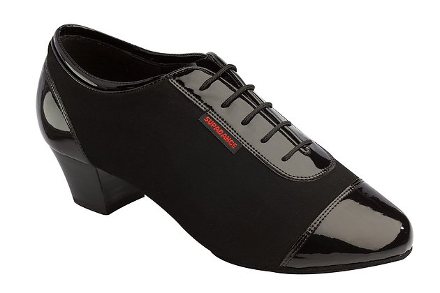 Style 8505 - Black Patent/Nubuck