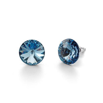 Elite Light Sapphire - Stud Earrings
