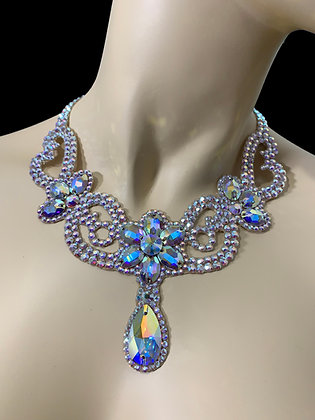 JLN03 - Crystal AB Necklace