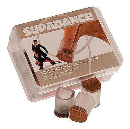 Supadance Suede Slim Heel Protectors