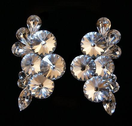 FC165 Swarovski Crystal Earrings