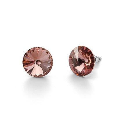 Elite Light Rose - Stud Earrings