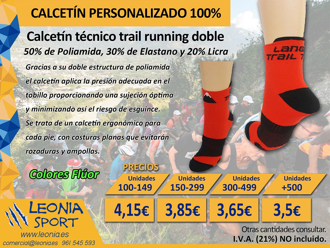 Calcetín trail running