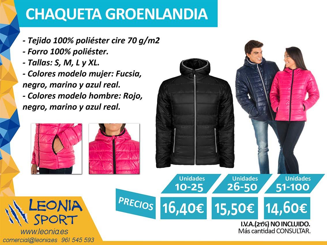 CHAQUETA GROENLANDIA