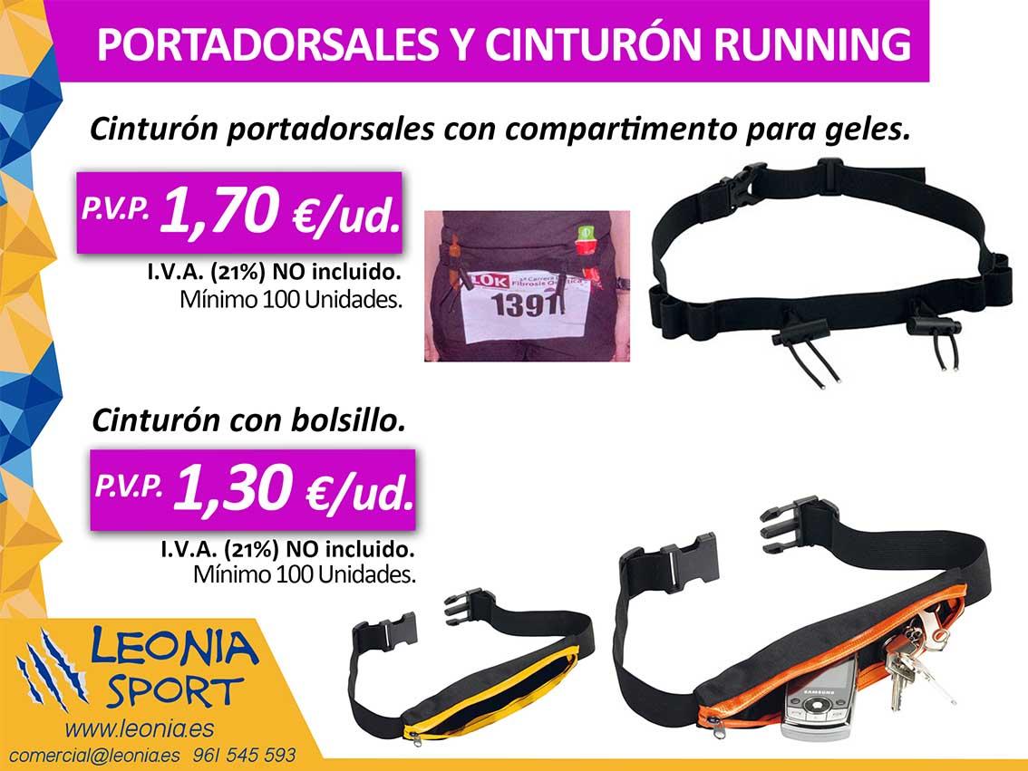 PORTADORSALES Y CINTURÓN RUNNING