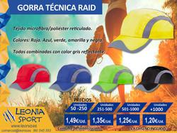 Gorra_técnica_RAID