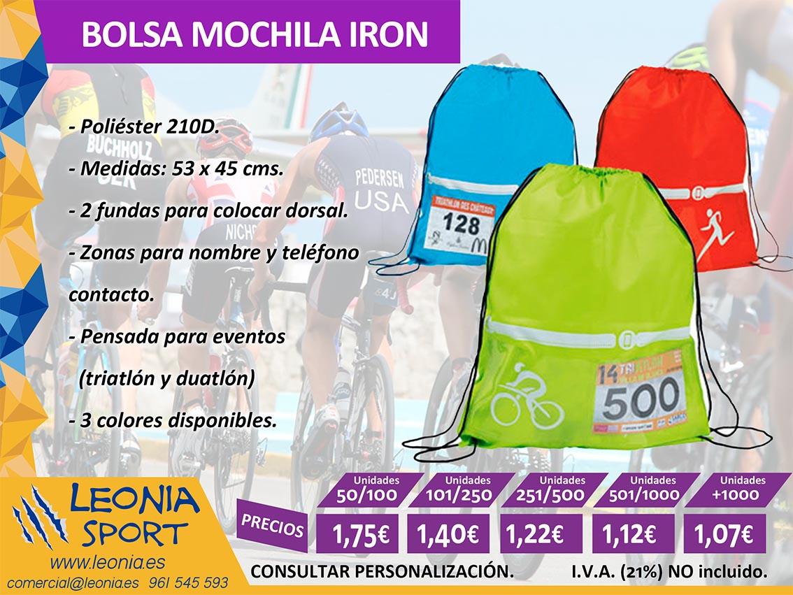 BOLSA MOCHILA IRON