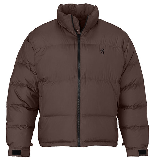 Browning Premium Down Fill  650 Jacket -Chocolate Brown