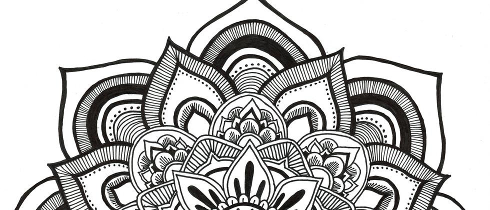 Mandala carnet A5