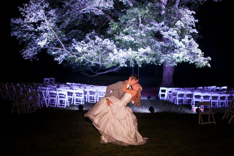 Dave and Angel Kissing Under lit Tree.jpg
