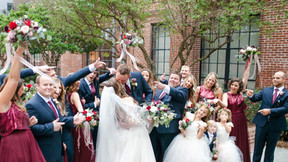 Miles & Dominique Smolic Tied the Knot - Raleigh Wedding DJ Company