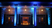 Raleigh event and wedding up lighting