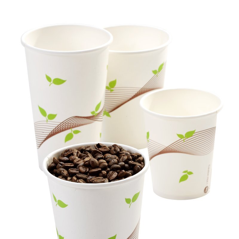 Leaf and Wave Hot Cup
